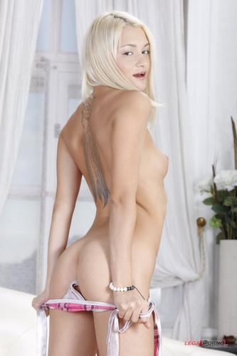 LegalPorno.com - Olivia Divine - First Gape Exclusive #031 Blonde Olivia anal POV