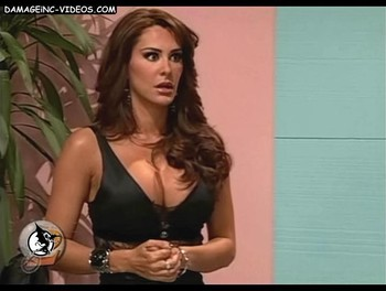 Ninel Conde superb chest in black top