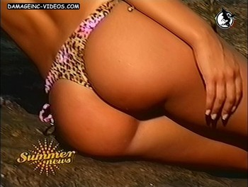 Sabrina Rojas perfect ass in thong video
