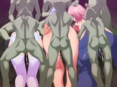 Air Hike GAME OVER End of the Road for the Adventurers Beastiality Hentai CG