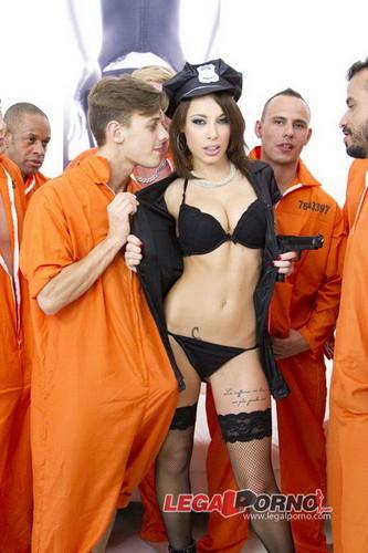 LegalPorno.com - Nikita Belucci - 10 men anal gangbang for super slut Nikita Belucci SZ973