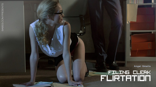 Angel Smalls - Filing Clerk Flirtation