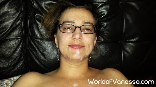 vanessa facial cumshot slut