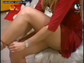 Gisela Barreto perfect legs blonde