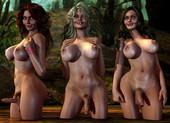 BoneIdle - Shemale 3D