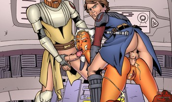 Star wars cartoonza beautiful ahsoka tano ananicomix