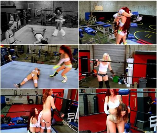 Female Vs Female Wrestling